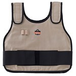 Ergodyne Chill-Its Khaki Large/XL Cotton Cooling Vest - 720476-12004