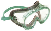 Kimberly-Clark Monogoggle V80 Polycarbonate Safety Goggles Clear Lens - Green Frame - Indirect Vent - 761445-10116