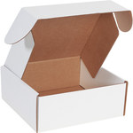Shipping Supply Oyster White Deluxe Literature Mailers - 10 in x 10 in x 4 in - SHP-2671