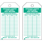 Brady 86446 Green on White Polyester / Paper General Inspection General Inspection Tag - 3 in Width - 5 3/4 in Height - B-837