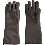 PIP Temp-Gard 202-1015 Black Large Silicone Extreme Temperature Glove - -321 °F to +500 °F - 15 in Length - Impervious to Cryogenic Liquids - 616314-86328