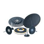 Standard Abrasives 546008 Hard Black TR Quick Change Disc Pad - 2 in Diameter - 90605