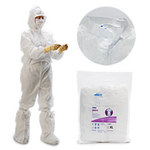 Kimberly-Clark Kimtech Pure A5 White XL/2XL Disposable Cleanroom Boot Cover - 036000-12919