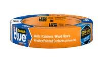 3M ScotchBlue 2080EL-24CCXS WALLS + WOOD FLOORS Painter's Tape - 0.94 in Width x 45 yd Length - 11673