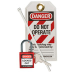 Brady Red Lockout/Tagout Kit - 754473-71978
