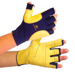 Impacto 509-20 RH Medium Grain Leather/Nylon/Spandex/Viscolas Work Glove - 50920110032