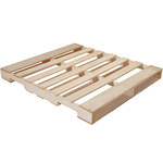 Natural Wood #1 Recycled Wood Pallet - 40 in x 48 in - SHP-2466