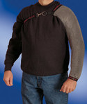 North Whiting & Davis Large Stainless Steel Cut-Resistant Cape Sleeves Only - 801462-028195