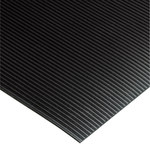 Shipping Supply Black Mats - 105 ft x 2 ft - SHP-13792