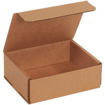 Shipping Supply Kraft Corrugated Mailers - 6 in x 5 in x 2 in - SHP-14141