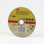 3M Cubitron Ceramic Cutoff Wheel - Type 1 (Straight) - 6 in Diameter - 7/8 in Center Hole - 0.045 in Thickness - 20349