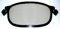 3M Peltor V1A-10P Black Steel Mesh Screen - 093045-93616