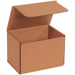 Shipping Supply Kraft Corrugated Mailers - 7 in x 5 in x 5 in - SHP-14165