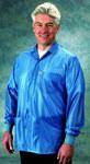Tech Wear Large Blue Lapel ESD / Anti-Static Jacket - LOJ-23C-L