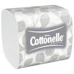 Kleenex Cottonelle White Hygenic Bathroom Tissue - 2 Ply - 48280