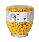 3M E-A-R Classic 393-2003-50 Yellow Regular PVC Cylinder Fit Test Plug Ear Plug - 080529-19076