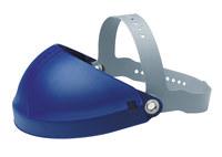 3M H4 82500-00000 Blue Polycarbonate Headgear - Pin Lock Adjustment - 078371-82500