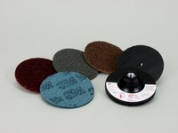 3M Scotch-Brite 914S Non-Woven Sanding Disc Set - Coarse, Medium, Very Fine, Super Fine Grade(s) Included - 4 in Diameter Included - 08707