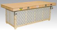 """64657 48"""" (1219 mm) W x 96"""" (244 cm) L Downdraft Sanding Table"""
