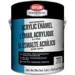 Krylon Industrial Coatings Satin White Corrosion Protective Coating - Liquid 1 gal Can - 03767