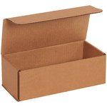 Shipping Supply Kraft Corrugated Mailers - 9 in x 4 in x 3 in - SHP-13553