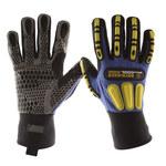 Impacto Yellow, Black XXL Kevlar/Nylon/Spandex Work Gloves - WGCOOLRIGGXXXL