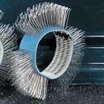 Dynabrade Wheel Brush - 4 in Outside Diameter - 92246