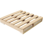 Shipping Supply Natural Wood Recycled Pallet - 30 in x 30 in - SHP-12653