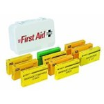 North First Aid Kit - Steel Case Construction - 35-W10SB