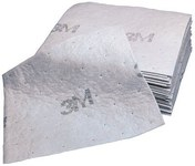 3M M-PD1520DD Gray Polypropylene/Polyester 39.6 gal Absorbent Roll - 15 in Width - 20 in Length - 051131-07164