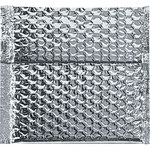 Shipping Supply Silver Cool Shield Bubble Mailers - 6.5 in x 6 in x 0 in - SHP-2281