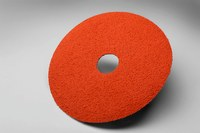 3M Cubitron 785C Coated Aluminum Oxide Orange Fibre Disc - Fiber Backing - 50 Grit - Coarse - 5 in Diameter - 7/8 in Center Hole - 56561