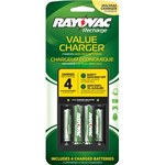Rayovac Recharge Value Recharging Station - PS133-4B