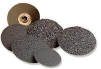 Standard Abrasives Coated Ceramic Fiber Disc - Fibre Backing - 80 Grit - Medium - 4 1/2 in Diameter - 7/8 in Center Hole - 530057