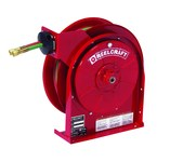 Reelcraft Industries TW5000 Series Gas Weld T-Grade Hose Reel - 25 ft Hose Included - Spring Drive - TW5425 OLPT