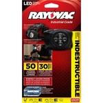 Rayovac Virtually Indestructible Headlamp - 35 Lumens 5 LEDs White - (3) AAA 2 Modes - DIYHL3AAA-B
