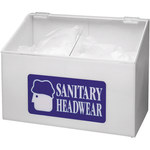 Brady Sanitary Headwear Dispenser - Tabletop - 15 3/8 in Width - 11 1/2 in Height - 754476-45689