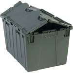 Grey Round Trip Totes - 20.25 in x 14.25 in x 12.75 in - SHP-3065