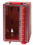 Brady Red Polyurethane Group Lockout Box 50938 - 4 in Width - 6.2 in Height - 8 Padlock Capacity - 754476-50938