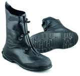 Dunlop Gator 89802 Black Large Waterproof & Rain Boots - 12 in Height - PVC Upper and PVC Sole - 791079-14938
