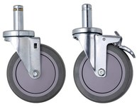 Quantum Storage Polyurethane Mobile Kit - 5 in Casters - WR-00H