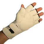 Impacto Air Glove BG471 Black/White Large Leather/Nylon/Spandex Work Gloves - BG47140