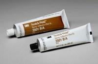 3M Scotch-Weld 3501 Gray Two-Part Epoxy Adhesive - Base & Accelerator (B/A) - 2 fl oz Kit - 20842