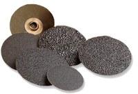 Standard Abrasives Coated Ceramic Fiber Disc - Fibre Backing - 80 Grit - Medium - 7 in Diameter - 7/8 in Center Hole - 530257