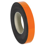 Shipping Supply Orange Magnetic Label Roll - 100 ft x 1 in - SHP-11523