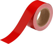 Brady 55261 Red Pipe Banding Tape - 2 in Width - 30 yd Length - B-946