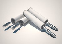 DBI-SALA Grey Concrete Bolt - 6 in Length - 840779-01304