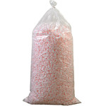 7 Cubic Feet Anti-Static Loose Fill Packing Peanuts, Pink - SHP-7831
