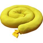 Brady SpillFix Yellow 6 gal Absorbent Boom 149061 - 4 in Width - 5 ft Length - BRADY SF-5 BOOM