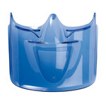 Bolle Safety Atom 254-AT-400 Blue Face Visor - Used with Goggles - 549172-77857